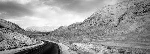 A last look at Ardnamurchan. Here, Glen Tarbert. January 18, 2015