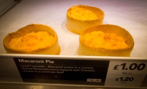 Fresh from the oven at Greggs in Bonnybridge. January 24, 2015