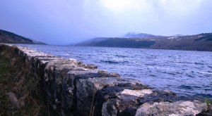 Meall Fuar-mhonaidh The lonely mountain over Loch Ness (is there a dragon under the mountain?) January 10, 2015
