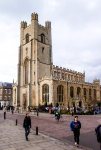 The Chapel of King's College gets a lot of tourist attention; yet, across the road is the equally notable Great St Mary's: for trivia buffs, this is the place of origin for the 16 notes of the world-famous 'Westminster Quarters'. February 26, 2015