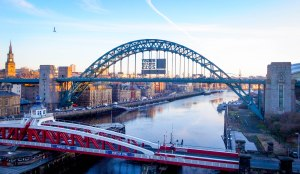 So it's not quite Sydney Harbour, but the Tyne Bridge is the best sight that I've seen for days. February 3, 2015