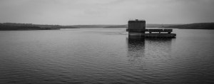 Though not exactly an island, and despite the poem below, passing the valve tower at Roadford Lake did make me think of Donne's famous line: 'No man is an Iland, intire of itselfe'. March 16, 2015